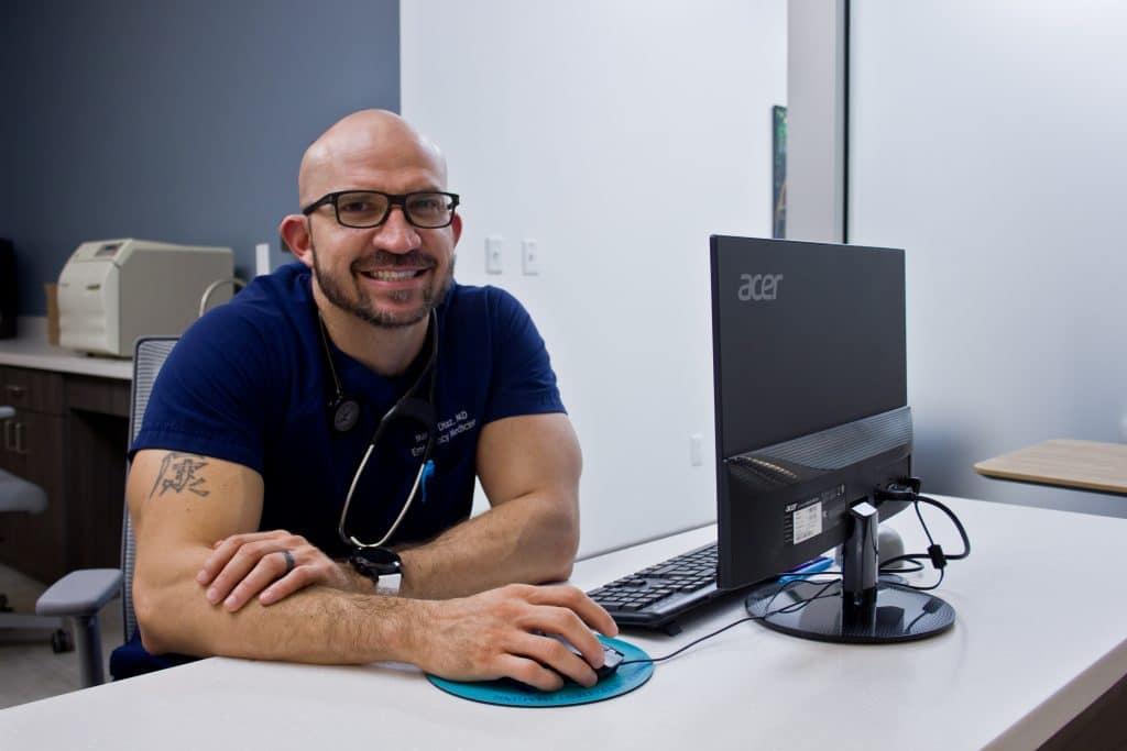 Dr. Diaz at Primary Care El Paso